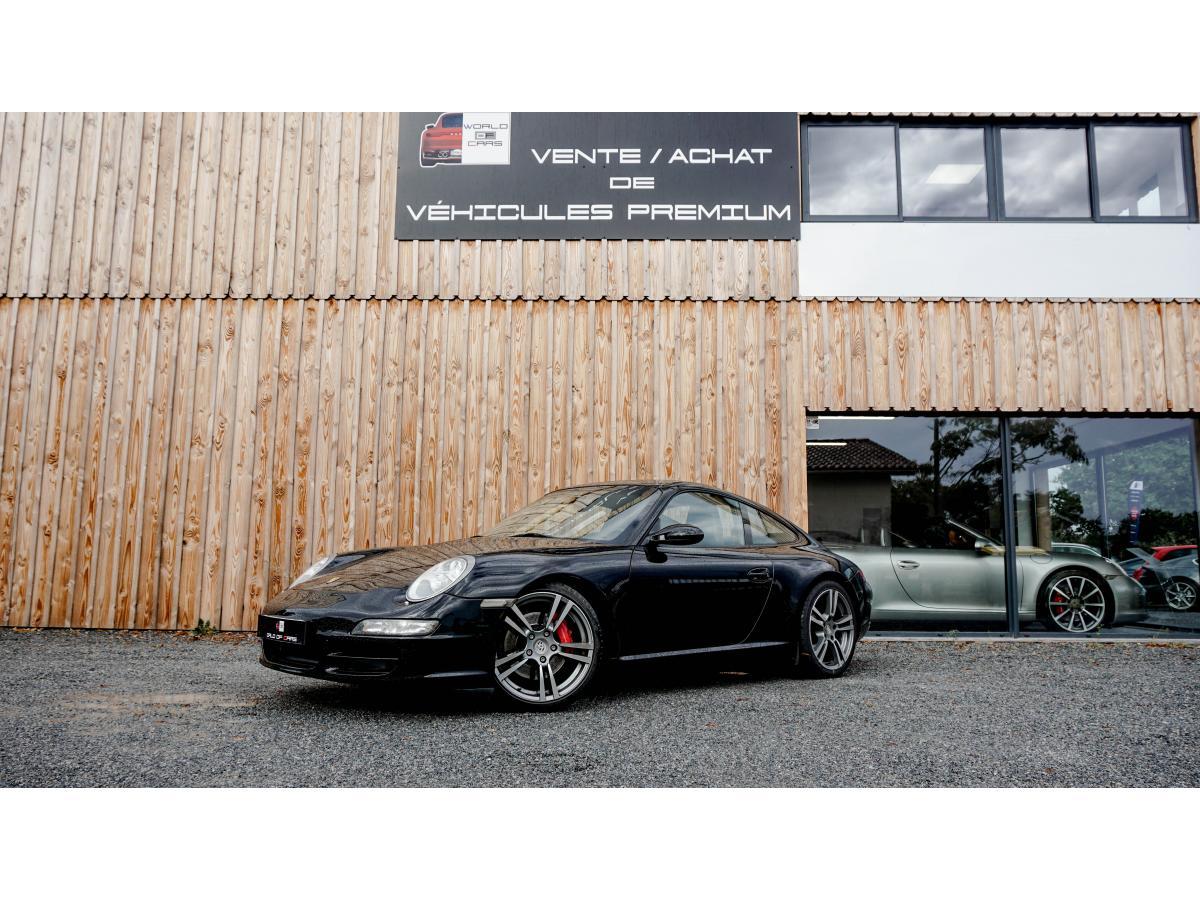 PORSCHE-911- 3.8i  TYPE 997 COUPE Carrera S