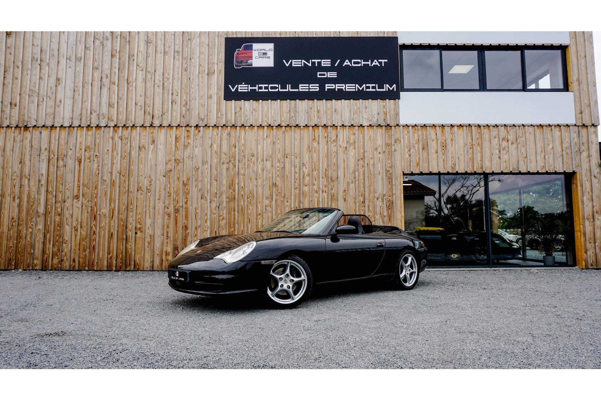 PORSCHE-911- Cabriolet 3.6i  TYPE 996 CABRIOLET Carrera